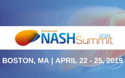 3rd Annual NASH Summit (April 22-25, 2019) in Boston, Massachusetts, USA.