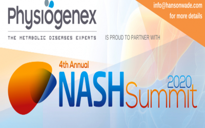 Physiogenex to present its NASH models at the Digital 4th Annual NASH Summit (Dec. 16-17, 2020)